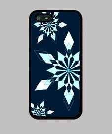 fiocchi di neve - blu