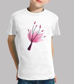 fiore di giglio d'acqua astratto ro