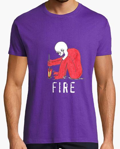 Camiseta fire