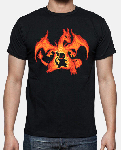 Fire Dragon Within - Mens shirt