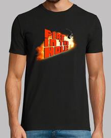 Fire In The Hole! - Chico manga corta