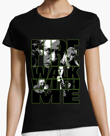 Camiseta Fire Walk with me - Twin Peaks