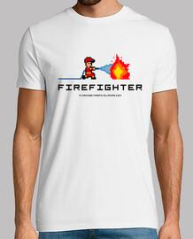 Firefighter (Bombero) Pixelado