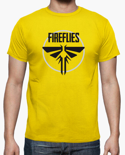 Fireflies - the last of us t-shirt