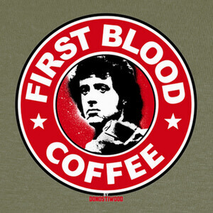 Camisetas First Blood Coffee