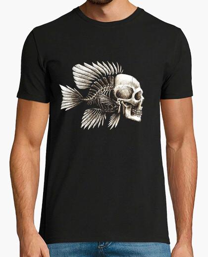 Camiseta Fish skull