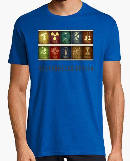 Camiseta Física Logos color pistacho