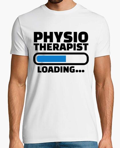 T-shirt fisioterapista carico