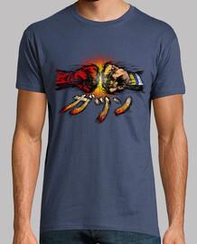 fists clash t shirt