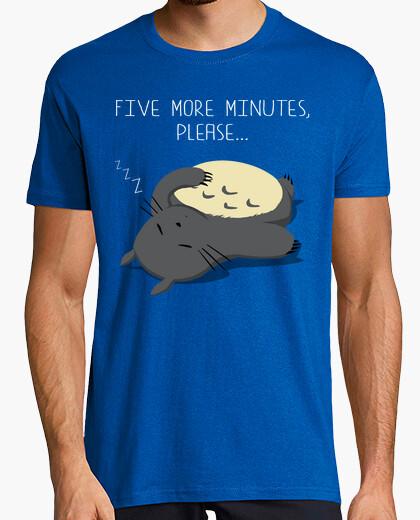 Camiseta Five more minutes
