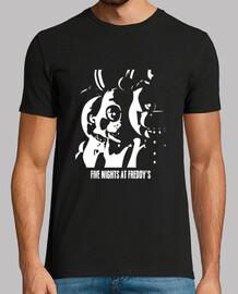 Five Nights At Freddy's B/W