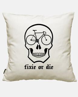 fixie oder schädel weiß sterben