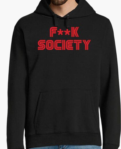 Sudadera F**k Society