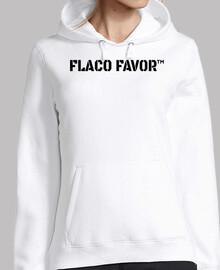Flaco favor (negro)