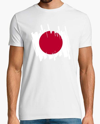 T-shirt flag japan