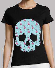 flamants roses crâne