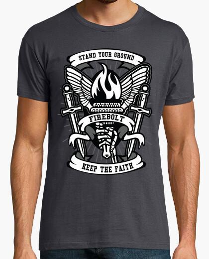 Tee-shirt flambeau