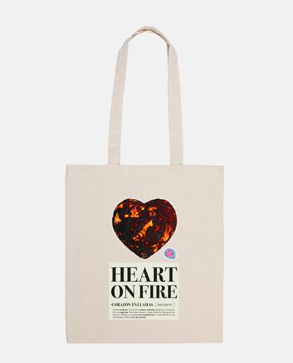 flamboyant sac de coeur