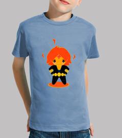 Flame Widow Camiseta niño/a