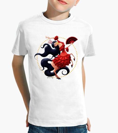 Ropa infantil Flamenca - Camiseta infantil