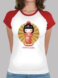 flamenkokeshi baseball  femme