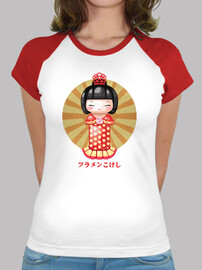 flamenkokeshi baseball girl