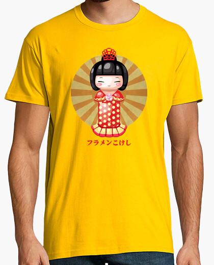 Camiseta Flamenkokeshi Chico
