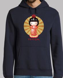 Flamenkokeshi Jersey Capucha