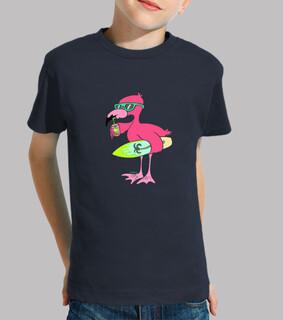Flamingo-Modus- meer auf