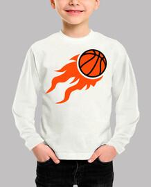 flammes de basket