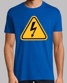 flash de electricidad