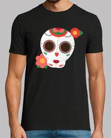 Flat sugar skull 1