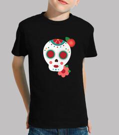 Flat sugar skull 2