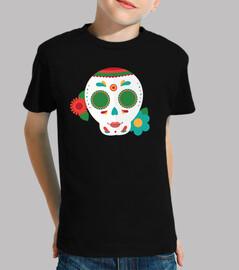Flat sugar skull 3