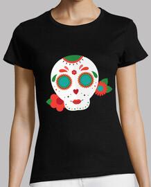 Flat sugar skull 4