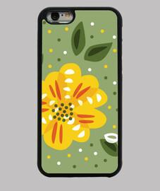 fleur jaune primevère
