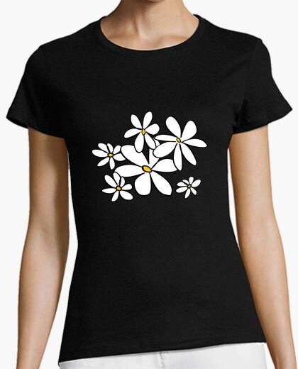 Tee-shirt fleurs