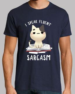 fließendes sarkasmt-shirt