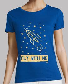 fliege mit mir