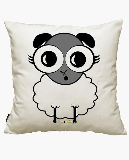 Flipping sheep cushion cover