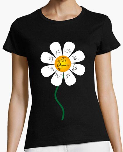 Camiseta Flor