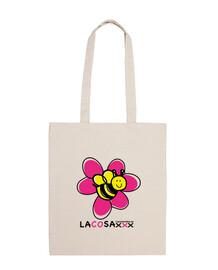 flor abeja