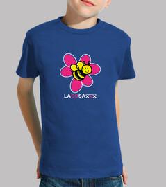 flor abeja blanco