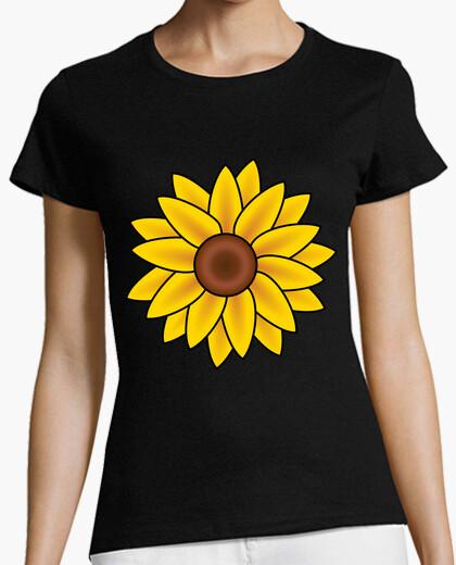 Camiseta Flor Amarilla