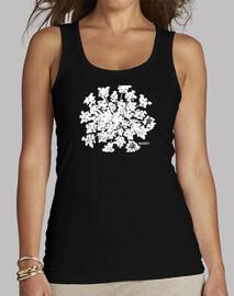 Flor blanca - Camiseta