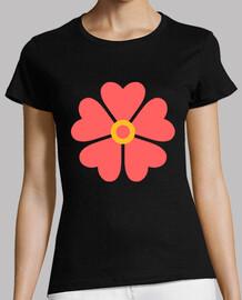 Flor de corazones