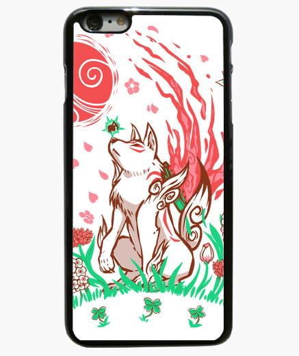 Funda iPhone 6 Plus / 6S Plus flor de lobo brisa - caja del teléfono