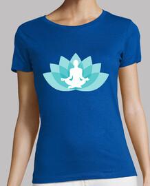 Flor de Loto Budismo Azul