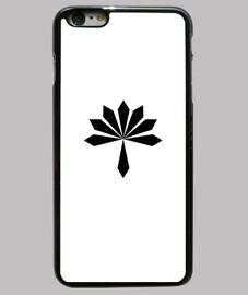 flor de metal negro