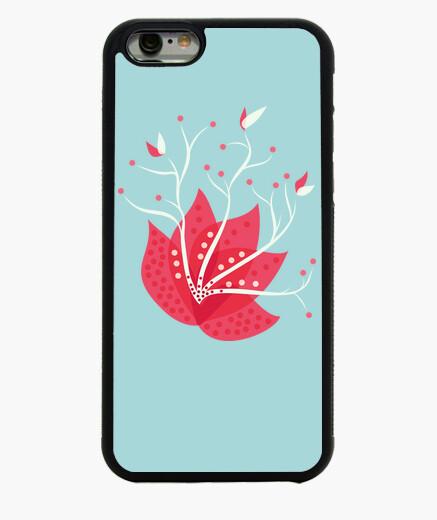 Funda iPhone 6 / 6S flor exótica de invierno